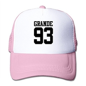 Mensuk Jade Custom Unisex Two-toned Cap Ariana Singer Grande Cute Cartoon Poster Fishing Caphat Black