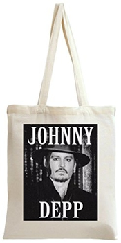 Johnny Depp With Hat Sac à Main