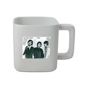 11oz Square Shaped Mug With Portrait Of Aphrodite's Child, 1969.