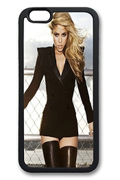 Iphone 6 Plus Case, 6 Plus Case - Slim Fit Case [shock Absorbent] Soft Tpu Silicone Cover For Iphone 6 Plus Shakira In Black Lovely Cute Anti-scratch Case Bumper For Iphone 6 Plus Cases