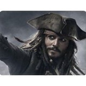 Nouveau Capitaine Jack Sparrow Johnny Depp Custom Design Cool Gaming Mousepd Tapis De Souris