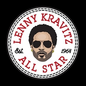 Lenny Kravitz All Star Converse Logo Women's T-shirt