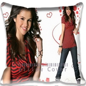 Actor Actress Celebrity Red Shirt Selena Gomez Pillowcase/taies D'oreillers Fashion Indoor/outdoor Sofa Couch Throw Pillow Case/taies D'oreillers Special Funny Pattern Pillowcase/taies D'oreillers