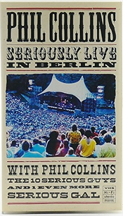 Phil Collins-seriously Live [vhs] [import Allemand]