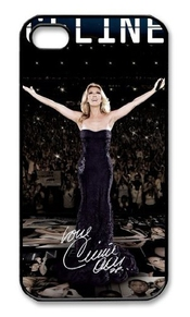 Celine Dion Iphone 4 4s Case Cover Uy37, Apple Plastic Shell Hard Case Cover Protector Gift Idea
