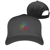 Hittings Coldplay Chris Martin Jonny Buckland Guy Berryman Quality Snapback Trucker Hats Black