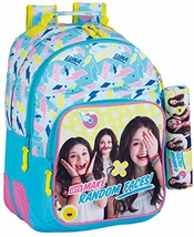 Soy Luna Faces Cartable, 42 Cm, Bleu (azul)