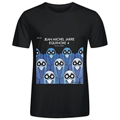 Jean Michel Jarre Quinoxe 4 Tour Rock Homme Crew Neck Cool Shirts Xxxx-l