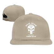 Feruch Unisex The Legend Chris Kyle Seal Team Sniper Baseball Cap Black Lightgrey