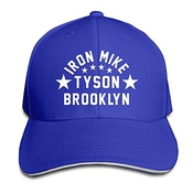 Trithaer Custom Iron Mike Tyson Brooklyn Adjustable Sandwich Hunting Peak Hat & Cap