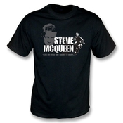 Steve Mcqueen - Le Grand T-shirt D'évasion, Colorent Le Noir