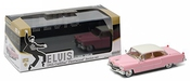 Greenlight Collectibles - 86491 - Cadillac Fleetwood Série 60 Elvis Presley - 1955 - Echelle 1/43  -  Rose/blanc