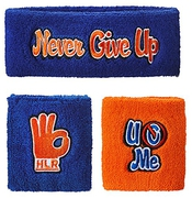 Wwe ? john Cena ? respect. Strathearn It. Never Give Up Official Sweat Band Bandeau éponge Set