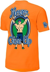 Wwe - John Cena - Respect Earn It Orange Official Authentic T-shirt