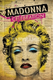 Madonna Celebration Music Grand Poster 61 Par 91,5 Cm