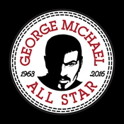 George Michael Converse All Star Icon Men's Sweatshirt