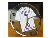 Cristiano Ronaldo - Real Madrid Cf - Horloge De Table - Edition Limitee Les Legendes Du Football