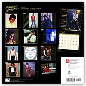 Calendrier Michael Jackson Official 2018