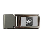 Metal Money Clip With Johnny Hallyday Singing.