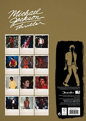 Calendrier Michael Jackson Official 2018 - A3 Poster Format