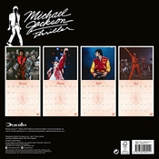 Calendrier Michael Jackson Collector's Edition Official 2018 - Square Format With Record Sleeve Cover