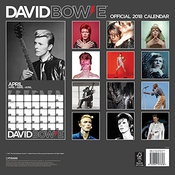 Calendrier David Bowie Square 2018