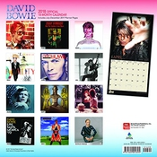 Calendrier David Bowie Official 2018