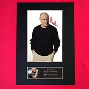 Phil Collins Signed Autograph Mounted Photo Print
