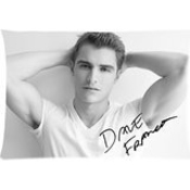 Popular Design Custom Pillow Case/taies D'oreillers Cover Dave Franco Pillowcase/taies D'oreillers Decorative Zippered Pillow Case/taies D'oreillers Cover 20x30 Inch Twin Sides Print