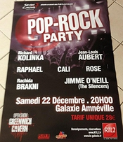 Pop-rock Party - Jean-louis Aubert - 80x120cm Affiche / Poster