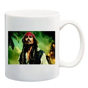 Johnny Depp Captain Jack Sparrow Pirates Of Caribbean T-shirt Mug