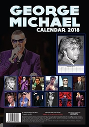 George Michael Wham Calendrier 2018 grande (a3) Taille Poster Calendrier Mural Neuf Par Dream