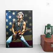 Poster Bruce Springsteen - Sur Papier Photo Brillant - Formato, 70cmx100cm