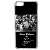 Aux Prix Canons - Coque Iphone 7 7s Johnny Hallyday Rock Star Musique
