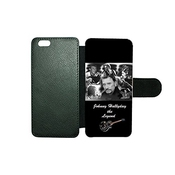 Aux Prix Canons - Etui Portefeuille Iphone 6 6s Johnny Hallyday Rock Star Musique