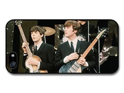 Paul Mccartney And John Lennon Posing With Instruments The Beatles For Iphone 6 Plus 5.5 Phone Case Cover