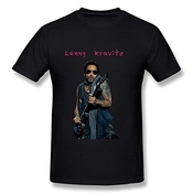 Male Cool Style Brand Lenny Kravitz Tshirt Small