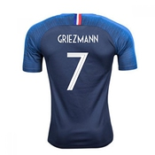 Uksoccershop 2018-2019 France Home Nike Football Shirt (griezmann 7) - Kids