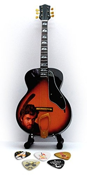 George Michael Miniature Replica Guitar & Plectre (e)