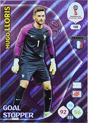 Panini Carte Adrenalyn Xl Fifa 2018 #411 Hugo Lloris / France