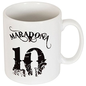 Maradona No.10 Mug - One Size