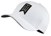 Nike Golf Mens Tiger Woods Tw Aerobill Classic99 Golf Hat White 845579 Size S/m