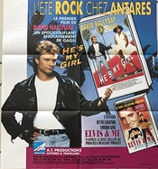 David Hallyday - He's My Girl - 70x70cm - Affiche Originale De Cinema