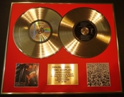George Michael/double Cd Disco De Oro & Foto Display/edicion Ltd/certificato Di Autenticità/