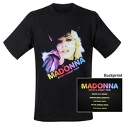 Madonna - T-shirt Hat Sticky (in M)