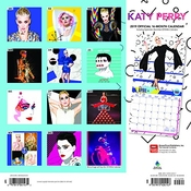 Calendrier Katy Perry 2019