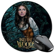 Into The Woods Anna Kendrick Cinderella Tapis De Souris Ronde Round Mousepad Pc