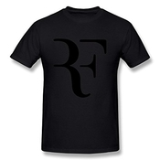 Gryeur Men's Roger Federer T-shirt Medium