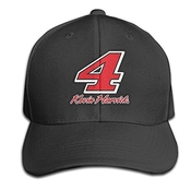 Hittings Gyb Home Unisex Adult Kevin Harvick Logo Solid Caps/snapback Hats/baseball Caps/caps/hats Black
