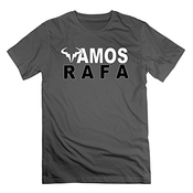 Rightessi Men's Rafael Nadal Rafa Vamos T-shirt